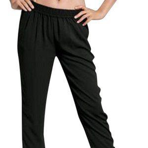 Boston Proper Soft Black Jogger Pants